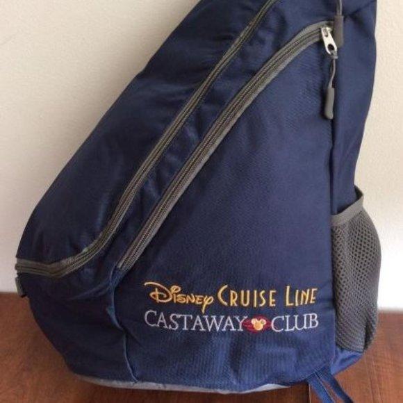 DISNEY CRUISE LINE CASTAWAY CLUB SLING BACKPACK